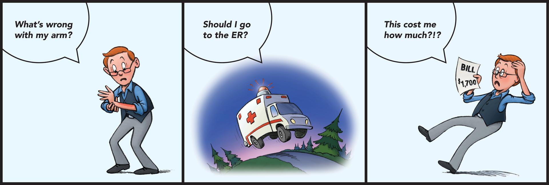 find the right care comic